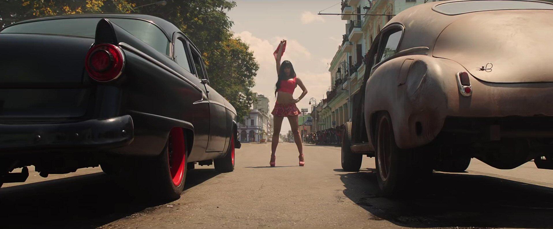 Un'immagine da Fast & Furious 8