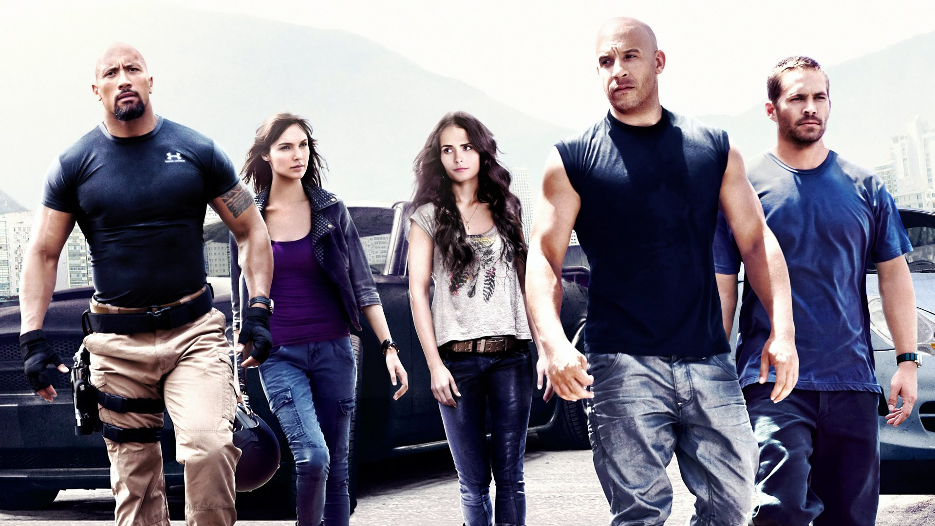 Un'immagine dalla saga Fast & Furious