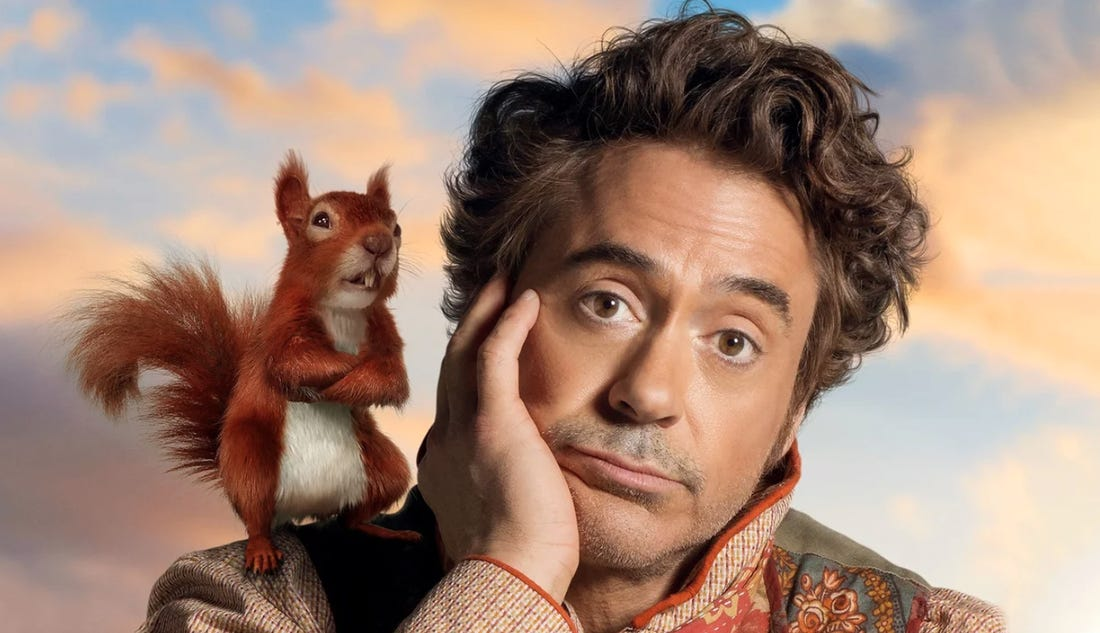 Robert Downey Jr è John Dolittle