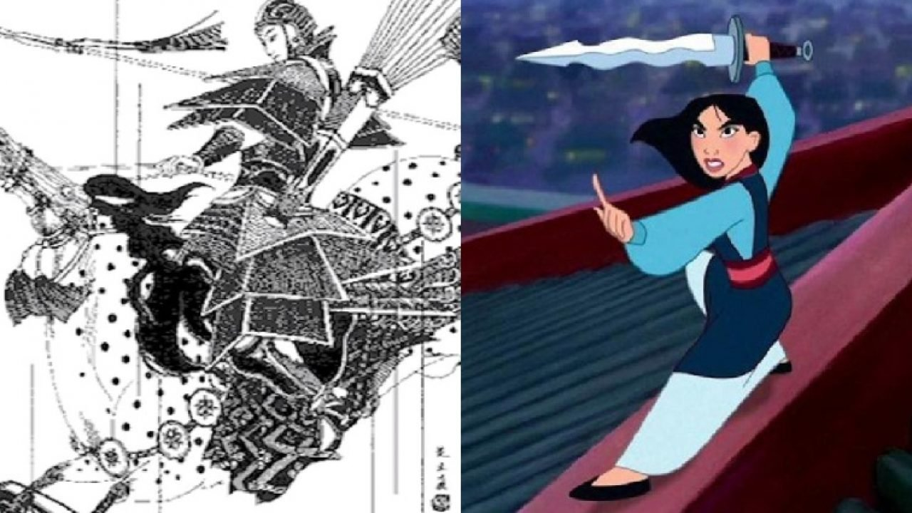 Mulan tra cartoon e leggenda