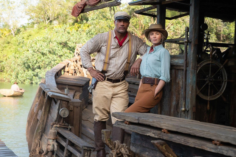 I protagonisti di Jungle Cruise